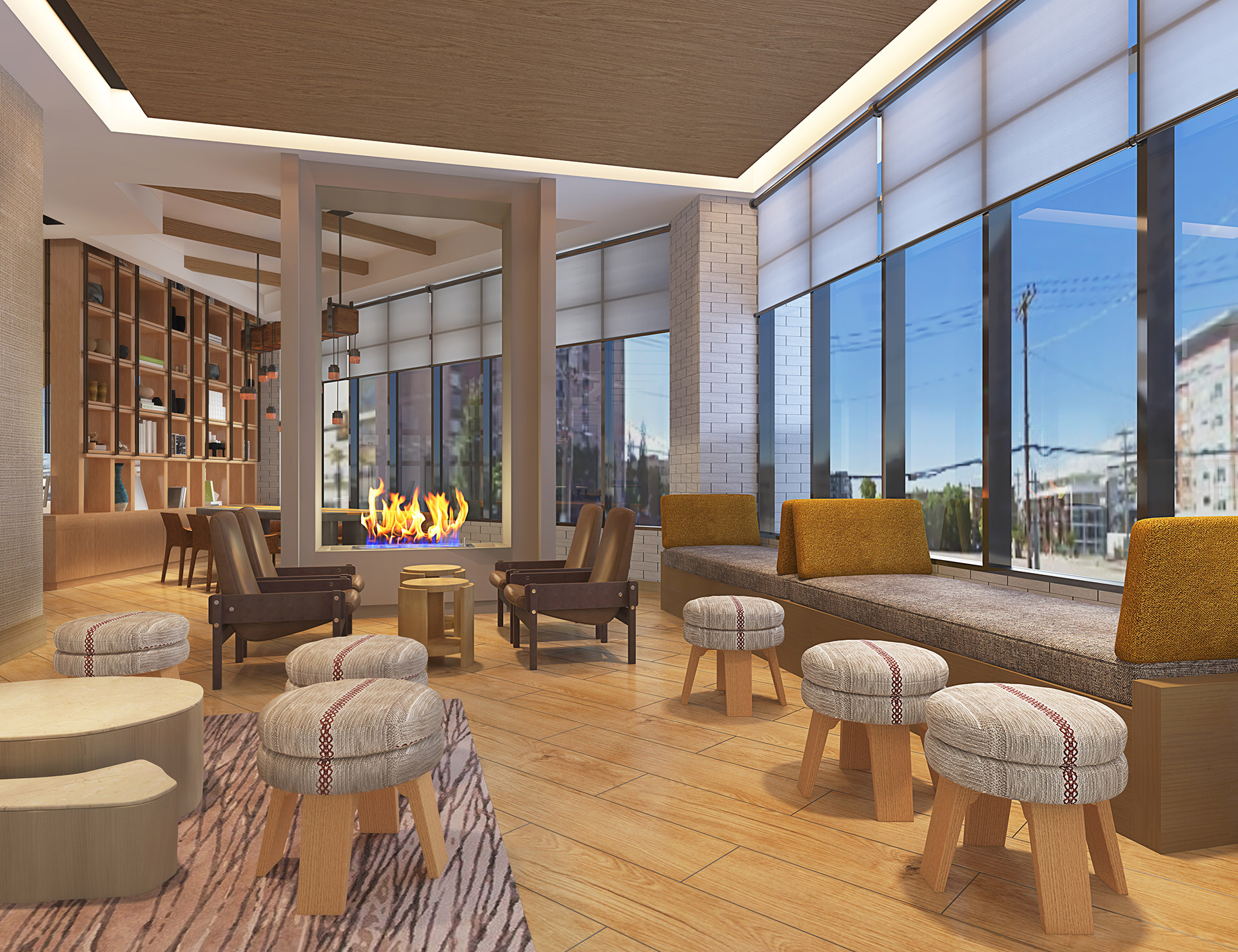 Element Salt Lake City Lobby Lounge