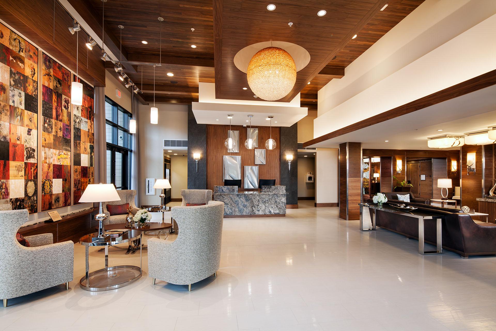Sheraton Redding Hotel Lobby