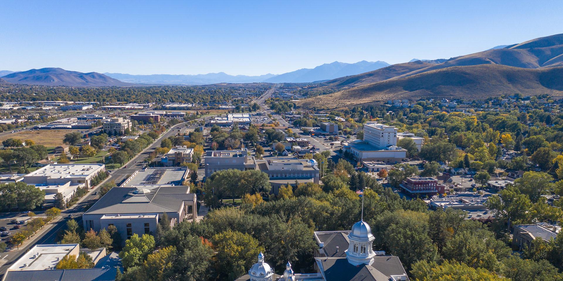 Carson City Nevada skyline