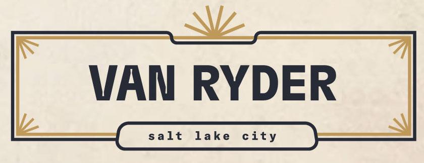 Van Ryder Logo - in house version